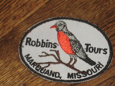 robins tour patch,60',smarquand,missouri new old stock