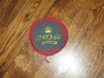 rutgers state university guard ,patch, new old stock 70's