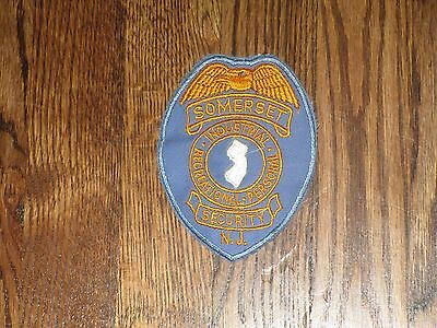 somerset,new jersey, security,patch, 60's,new old stock