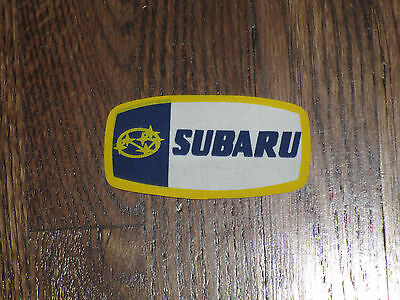 subaru ,iron on  patch, 1980's, new old stock, set of 2