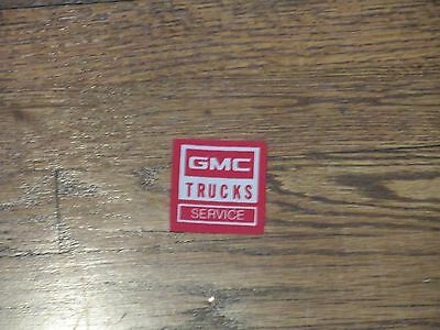 trucking patch,gmc  trucks service  patch, new old stock, iron on , 80's,set 4