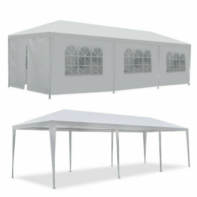 10u0027 20u0027 30u0027 White Outdoor Wedding Party Tent Patio Gazebo Canopy with Side & 10u0027 20u0027 30u0027 White Outdoor Wedding Party Tent Patio Gazebo Canopy ...