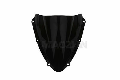 Black Windscreen Windshield Screen For Suzuki GSXR600/750 K8 2008-2010 2009 New
