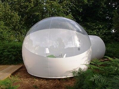 Stargaze Outdoor Single Tunnel Inflatable Bubble Camping Tent - Half-n-half Look
