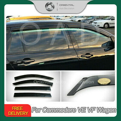Premium Weather Shields Weathershield Window Visors for Commodore VE VF Wagon