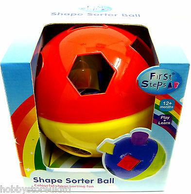 Baby Shape Sorter Ball Toddlers Colourful Shape Sorter Ball Baby Toy 12 Months+