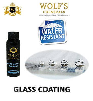 WOLF'S CHEMICALS NANO GLASS SEALANT (GLASS GUARD) 150 ml