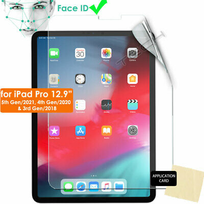 "1x ULTRA CLEAR LCD Screen Protector Cover for New Apple iPad Pro 12.9"" 2018"