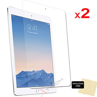 """2x CLEAR Screen Protector Guard Covers for Apple iPad Pro 12.9"""" 2017 / 2015"""
