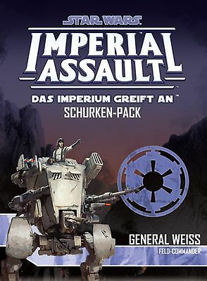 Star Wars: Imperial Assault | General Weiss Erweiterungspack | Deutsch, Neu