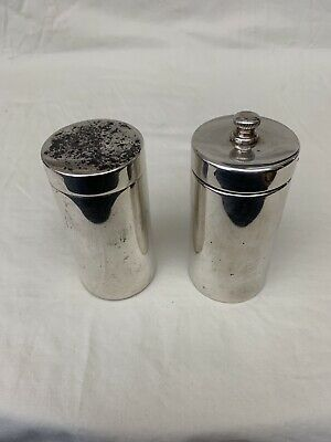 Tiffany & Co. Sterling Silver Pair Of Magnificent Salt & Pepper Shaker RARE