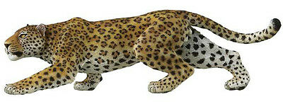 FREE SHIPPING | Papo 50017 Spotted Panther Realistic Leopard - New in Package