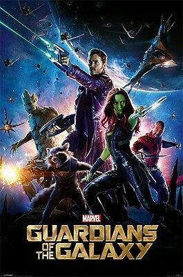 "Guardians Of The Galaxy Poster ""licensed"" Brand New ""marvel Comics"""
