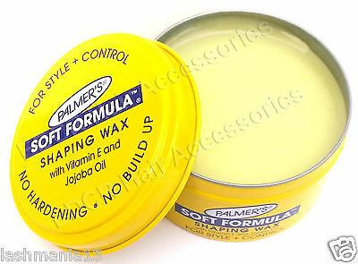 Palmer's Soft Formula Shaping Wax With Vitamin E For Style + Control 3.5 Oz