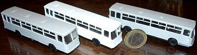 Three Ikarus Buses TT NEW Various Colours 1:120 Å