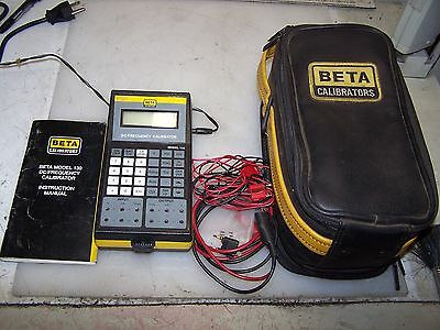 Beta Model 130 Dc / Frequency Calibrator With Accessories