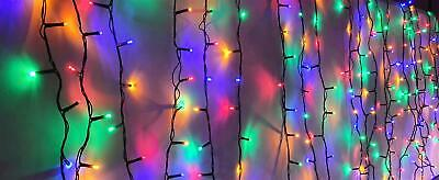 Christmas Lights  Xmas String Fairy For Indoor Outdoor 600 LED - Multicolour