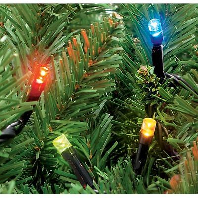 600 Christmas Xmas Multicolour LED Fairy String Outdoor/Indoor Lights