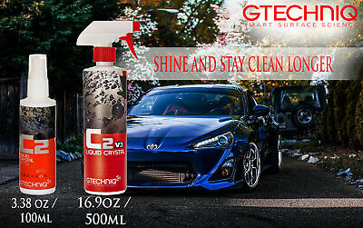 Gtechniq C2 - Liquid Crystal 100ml/500ml v3  Clean Your Car