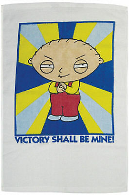 """New Family Guy Stewie """"Victory"""" Golf Towel"""