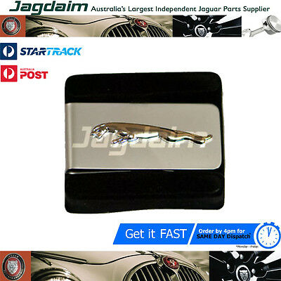 Jaguar Leaper Silver & Chrome Money Clip In Box Jdmclc