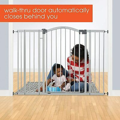 "Summer Infant Multi-Use Deco Extra Tall Walk-Thru Baby Gate, 28.5""-45"" wide"