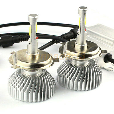 60W 6000LM H4 LED Light Headlight Vehicle Car Hi/Lo Beam Bulb Kit 6000k White