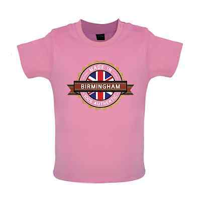 Made In BIRMINGHAM Baby T-shirt - Town / City - 8 Colours