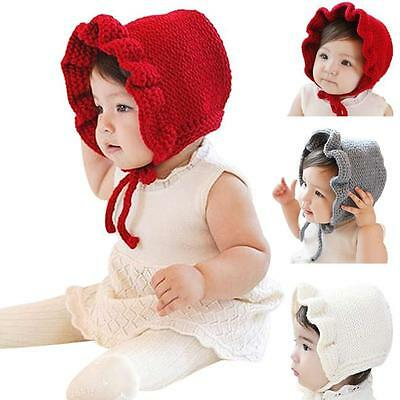 Cute Lovely Baby Hats Winter Outdoor Warm Hats Baby Girls Hats Caps Earmuffs Hat