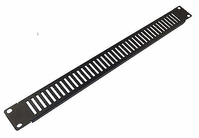 "1u VENTED BLANK PANEL - Metal Blanking Plate for 19"" Rack Cabinets"