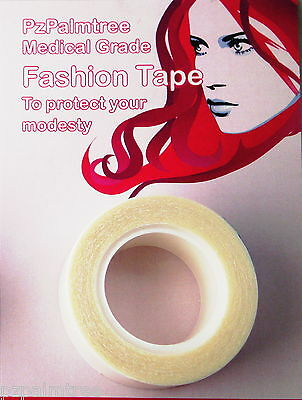 Alopecia TAPE Moustache Wig Modesty DOUBLE SIDED MEDICAL GRADE Hair Loss Chemo
