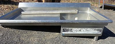 """Stainless Soil Table For Undercounter Dishwasher Sink  51""""  """"st10452"""""""