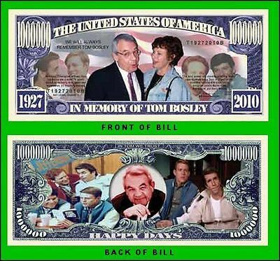50 Factory Fresh Novelty Happy Days Million Dollar Bills