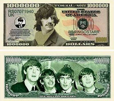 50 Factory Fresh Novelty Ringo Starr Million Dollar Bills