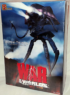 War Of The Worlds : 1/144 Scale Alien Tripod Model Kit Made By Pegasus