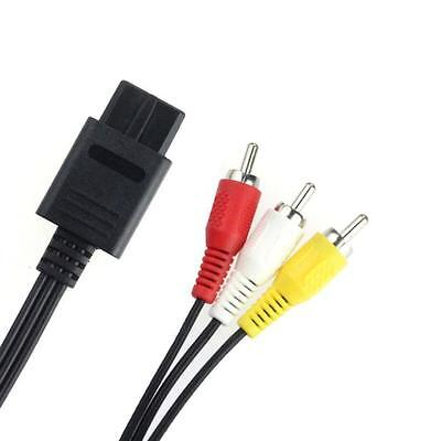 AV Video Audio Cable Lead Wires for Nintendo N64 Gamecube System NGC GC UK Stock