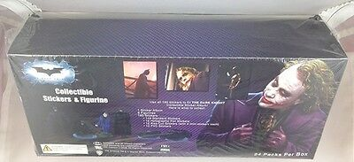 Batman The Dark Knight Movie Collectible Stickers and Figurines Box of 24 Packs
