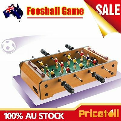 AU New Foosball Table Soccer Football Table Party Board Game Kids Toy Xmas Gift
