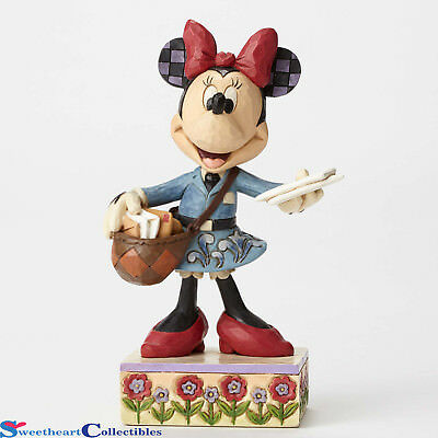 Jim Shore Disney Postal Carrier Minnie 4049633