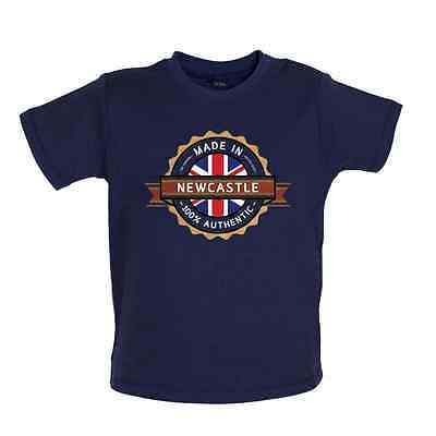 Made In NEWCASTLE Baby T-shirt - Town / City - 8 Colours