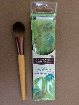 EcoTools Makeup Foundation  Brush /concealer Brush  Bamboo Brush Eco Tools
