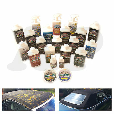Renovo Reviver, Polish & Proofer - Breathe New Life Into Your Convertible...