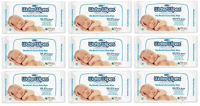 Water Wipes - 60 Wipes (Pack of 9)
