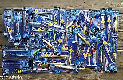 WILLIAMSON LURES MIXED LOT OF 50 JIGS Abyss Benthos Vortex Blackfin Tuna Fishing