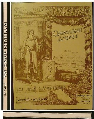 Greece The International of Olympic games 1896 in Athens {Reprint 1988} GR-FR-EN