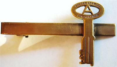 FOLGER ADAM CO Mini Key Prison Guard Jail Cell Suit Work TIE BAR CLIP