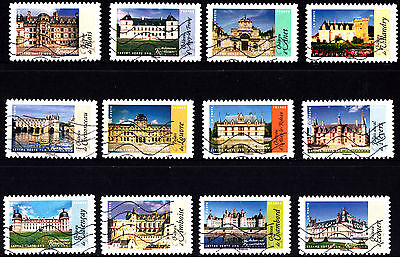France 2015 Renaissance Architecture Stamps P Used S/A