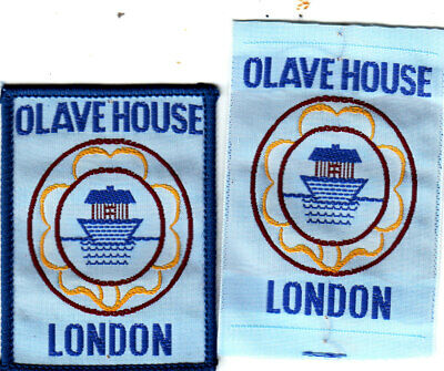 Girl Guide Badge bound OLAVE HOUSE London
