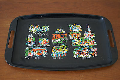 Vintage Knott's Berry Farm & Ghost Town Buena Park California Serving Tray