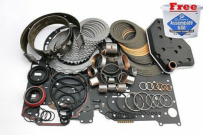 Ford 4R70W Transmission Deluxe Rebuild Kit 1998-03 W/ Bands, Bushings, & Filter